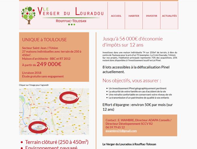 Site Investir Habitat : Le Verger du Louradou