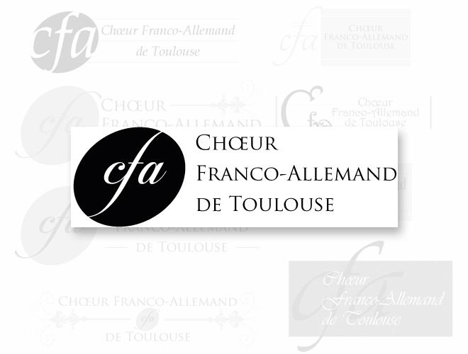 Logo du Chœur Franco Allemand de Toulouse